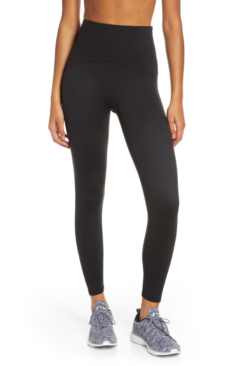 SPANX<SUP>®</SUP> Active 7/8 Leggings, Main, color, BLACK