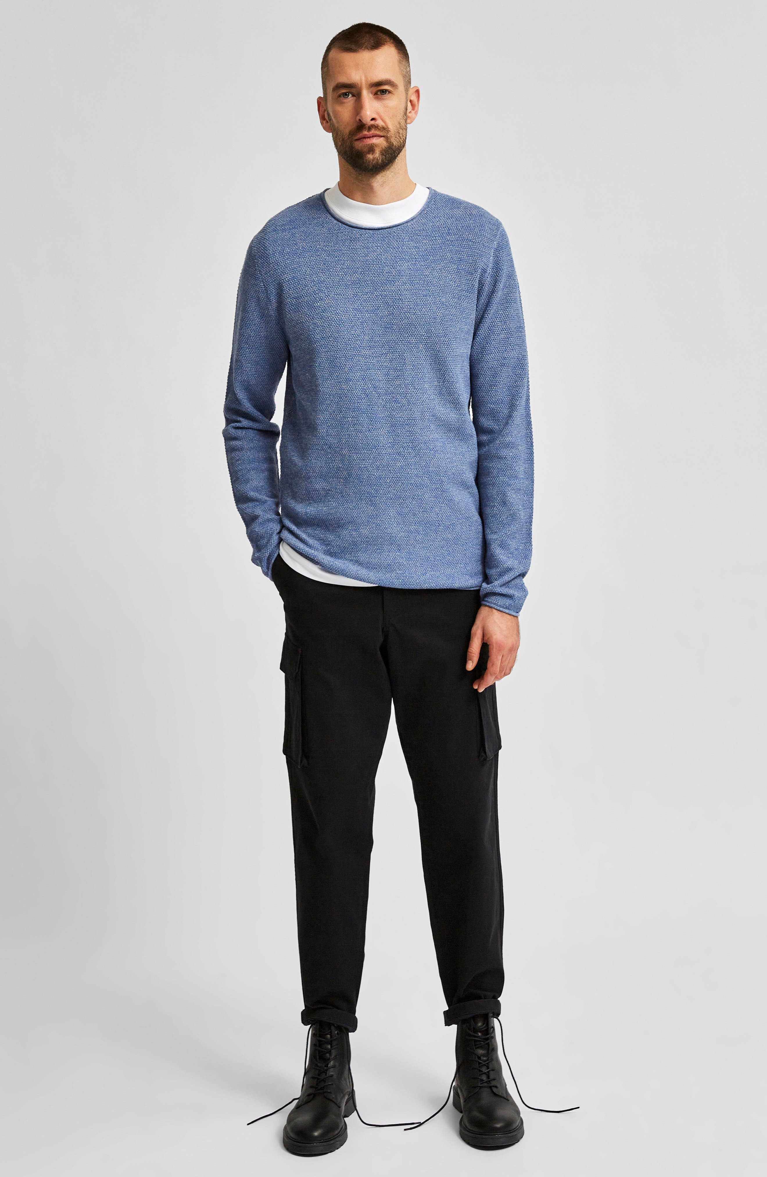 Image of Selected Homme Rocky Men's Crewneck Sweater