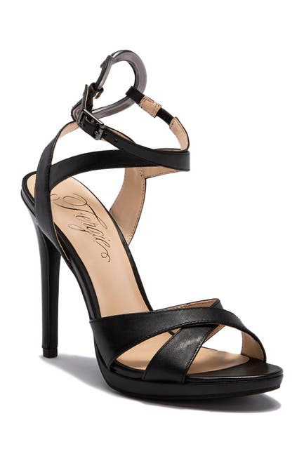 Image of Fergie Naima Leather Ankle Strap Sandal