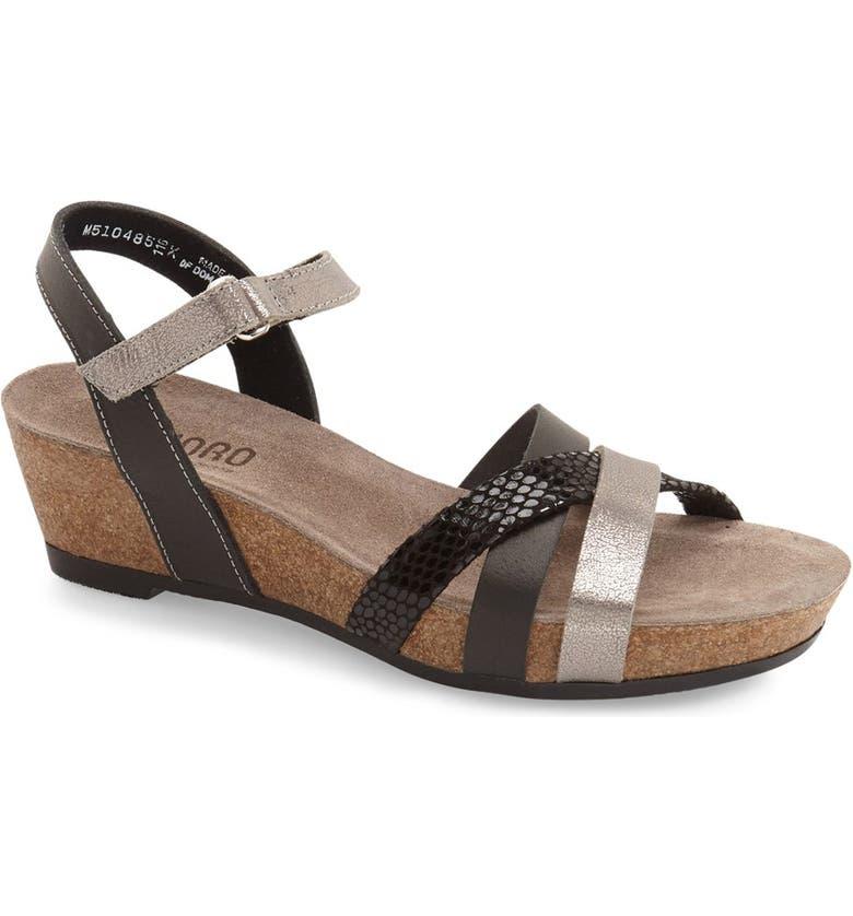 1cd2520f4e Munro 'Eden' Strappy Wedge Sandal (Women) | Nordstrom
