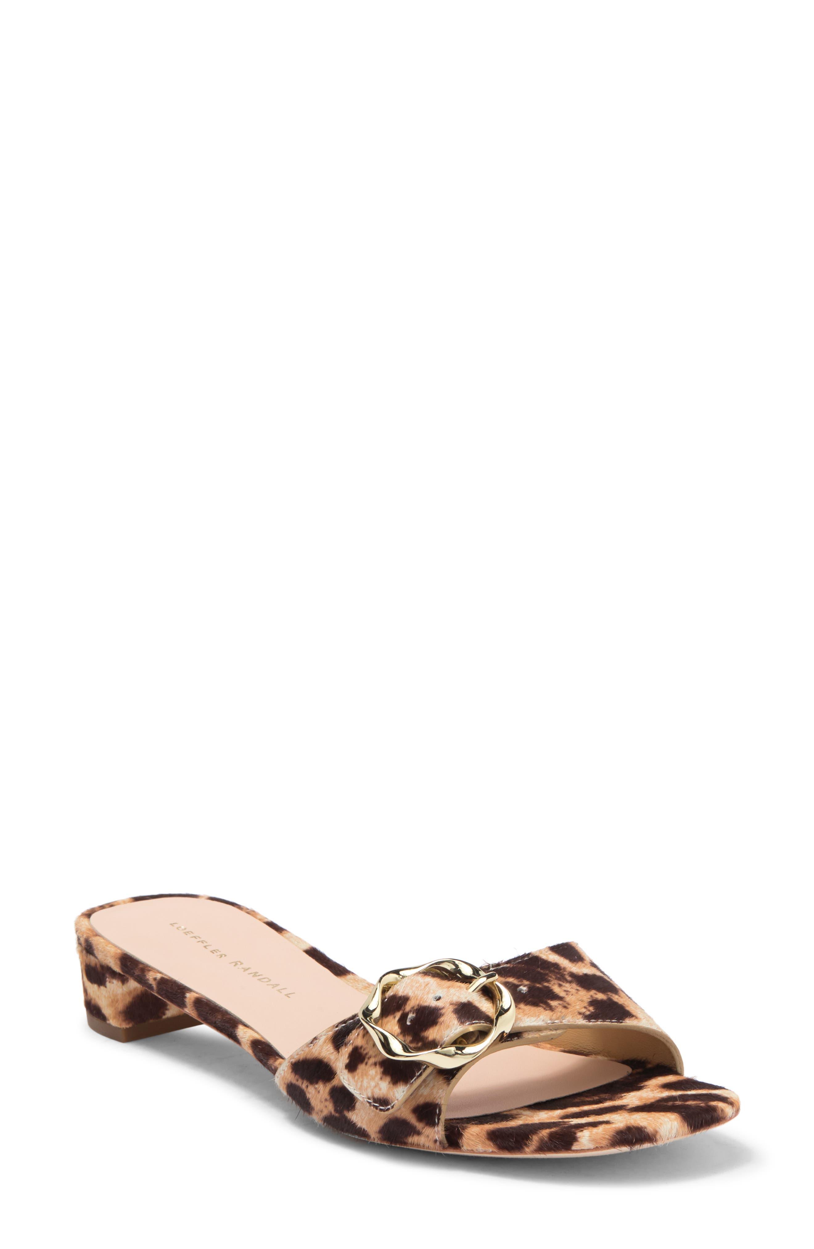 Image of LOEFFLER RANDALL Edie Leather Sandal