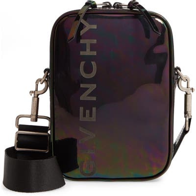 Givenchy Iridescent Leather Crossbody Bag - Pink