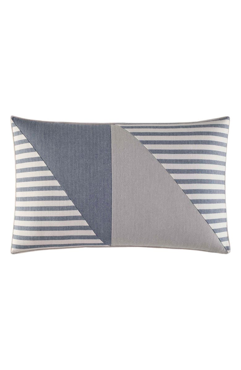 NAUTICA Fairwater Pillow, Main, color, BLUE