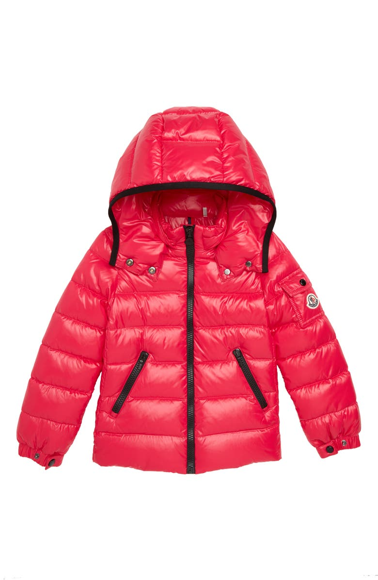 MONCLER Bady Hooded Down Jacket, Main, color, 650