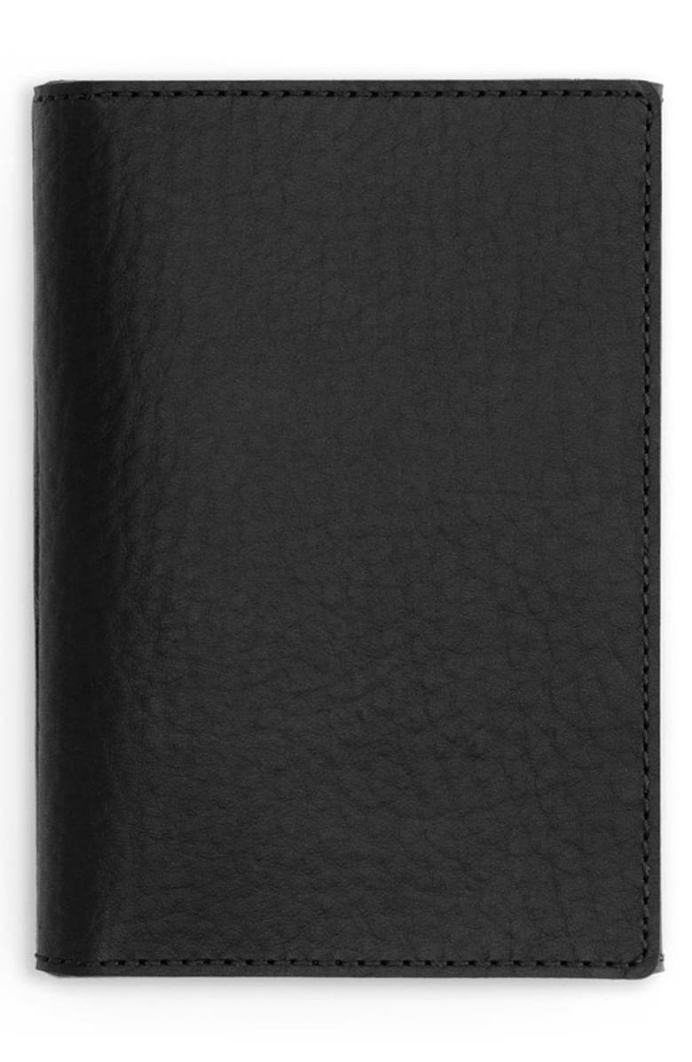 SHINOLA Small Leather Journal Cover, Main, color, 001