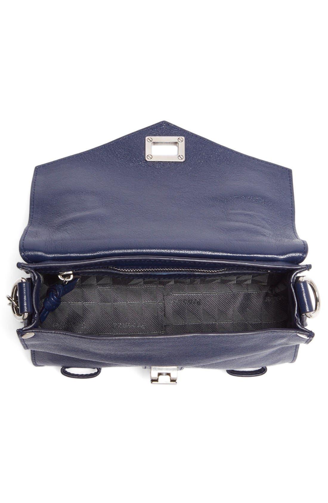 ,                             'Mini PS1' Lambskin Leather Crossbody Bag,                             Alternate thumbnail 19, color,                             400