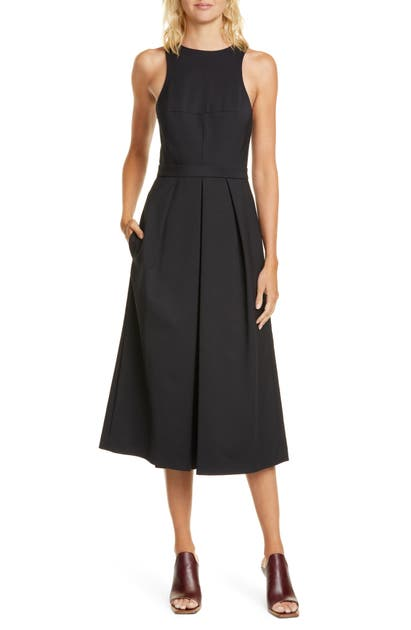 Tibi Suits AGATHE WIDE LEG CROP JUMPSUIT
