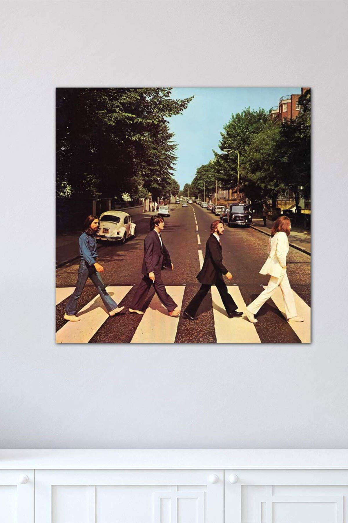 Image of iCanvas Abbey Road by Radio Days