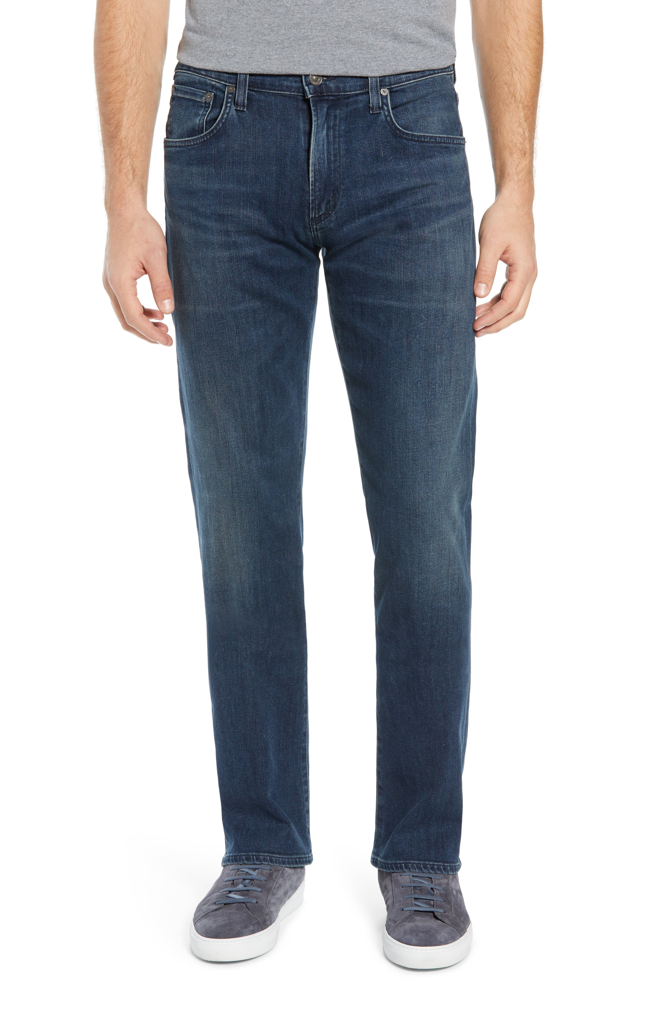 Men's Citizens Of Humanity Sid Straight Leg Jeans,  31 - Blue