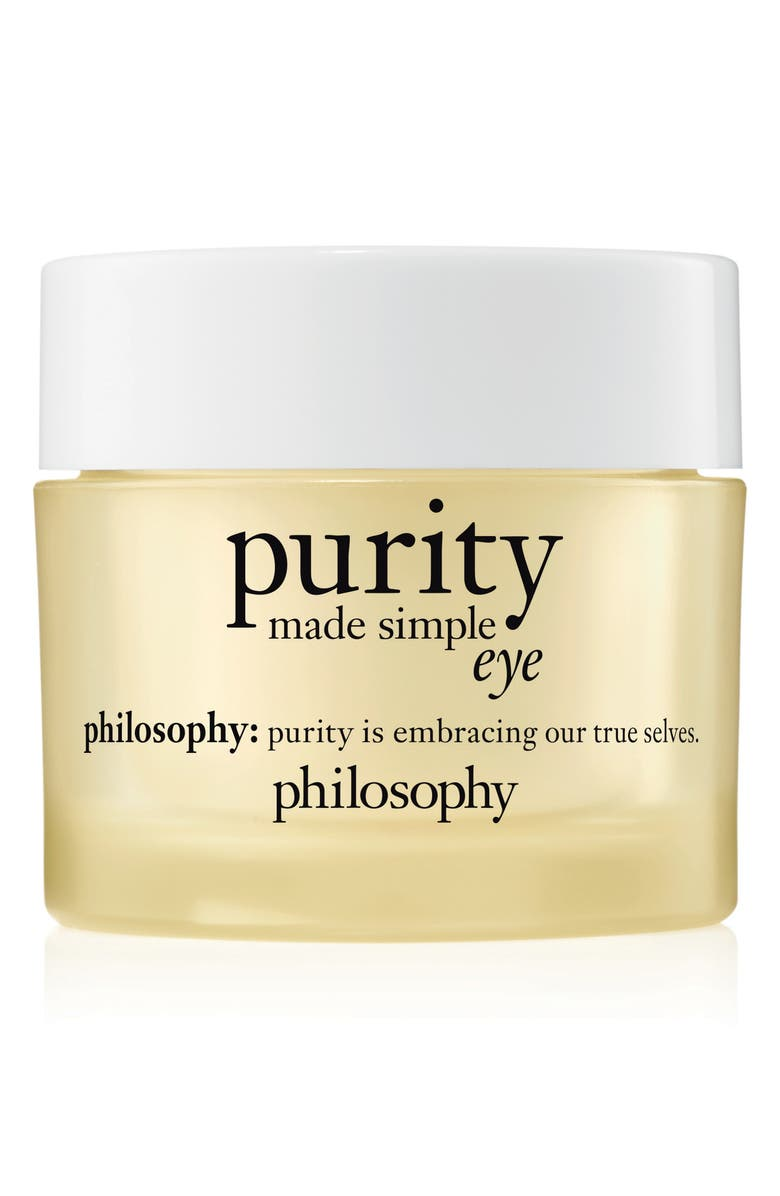 PHILOSOPHY purity made simple hydra-bounce eye gel, Main, color, NO COLOR
