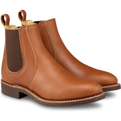 Red Wing 6-Inch Chelsea Boot, Brown