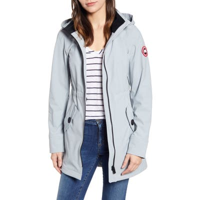 Canada Goose Avery Water Resistant Hooded Softshell Jacket, (2-4) - Grey