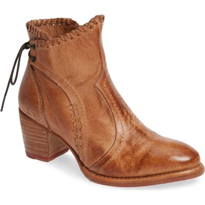Bed Stu Bia Lace-Up Bootie- Brown