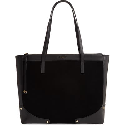 Ted Baker London Arriah Leather Tote - Black