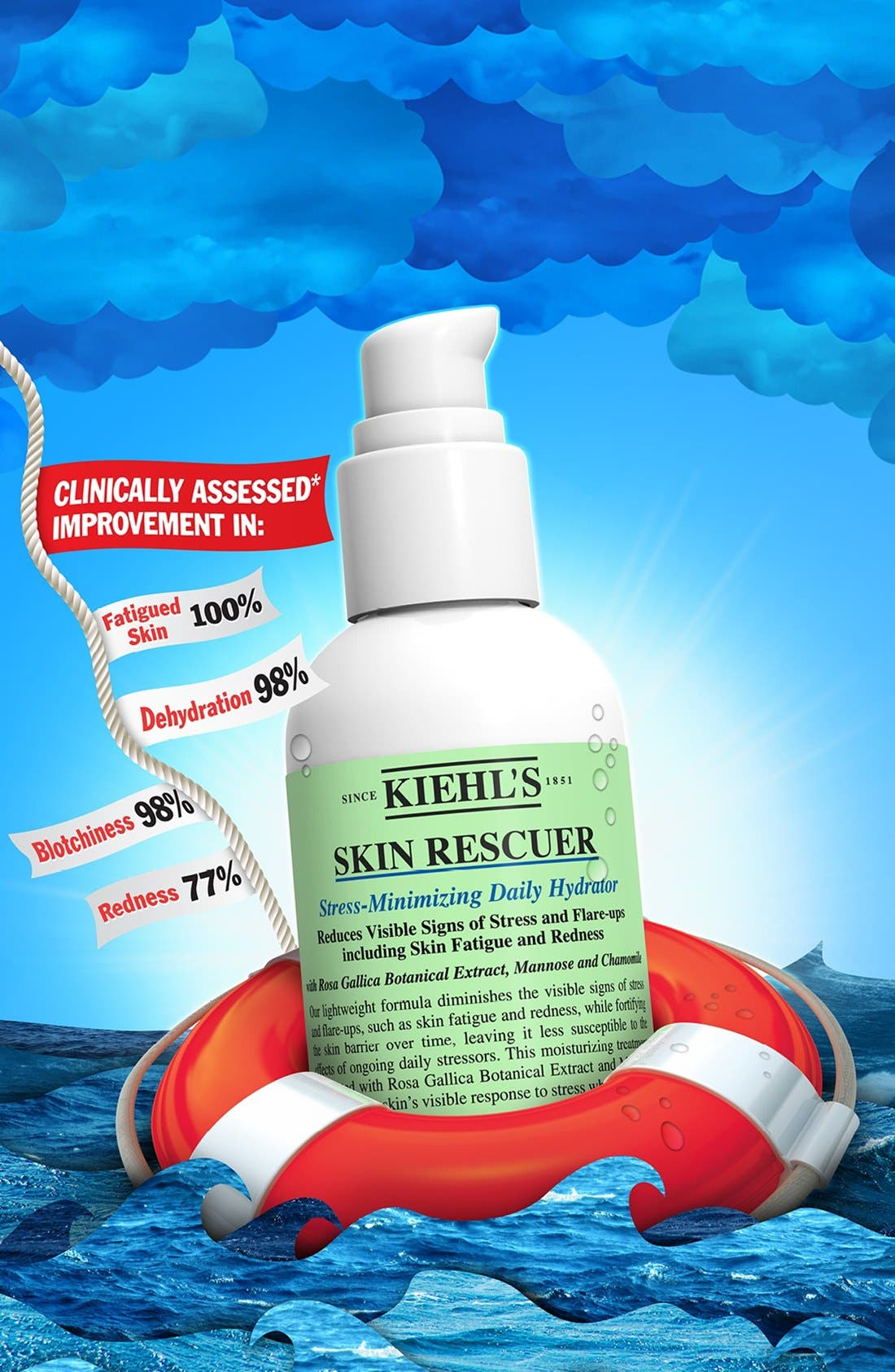 ,                             'Skin Rescuer' Stress-Minimizing Daily Hydrator,                             Alternate thumbnail 3, color,                             NO COLOR