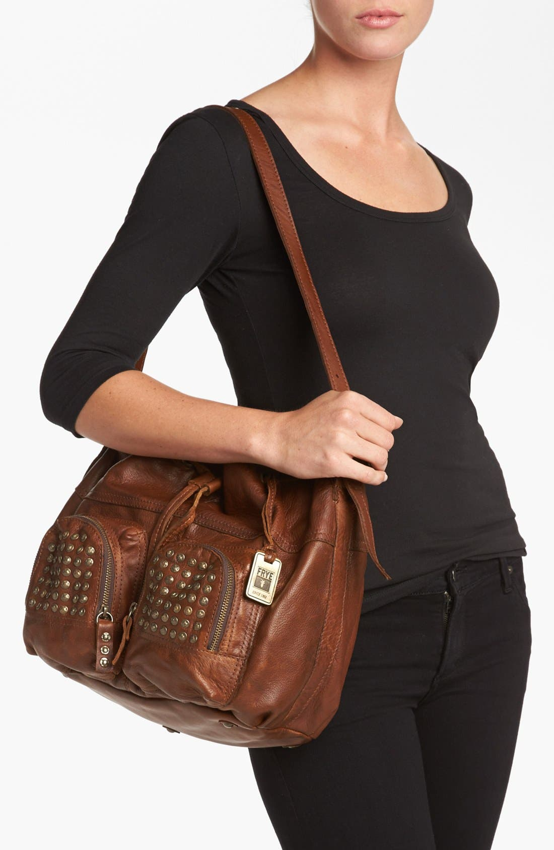 ,                             'Brooke' Drawstring Shoulder Bag, Medium,                             Alternate thumbnail 6, color,                             200
