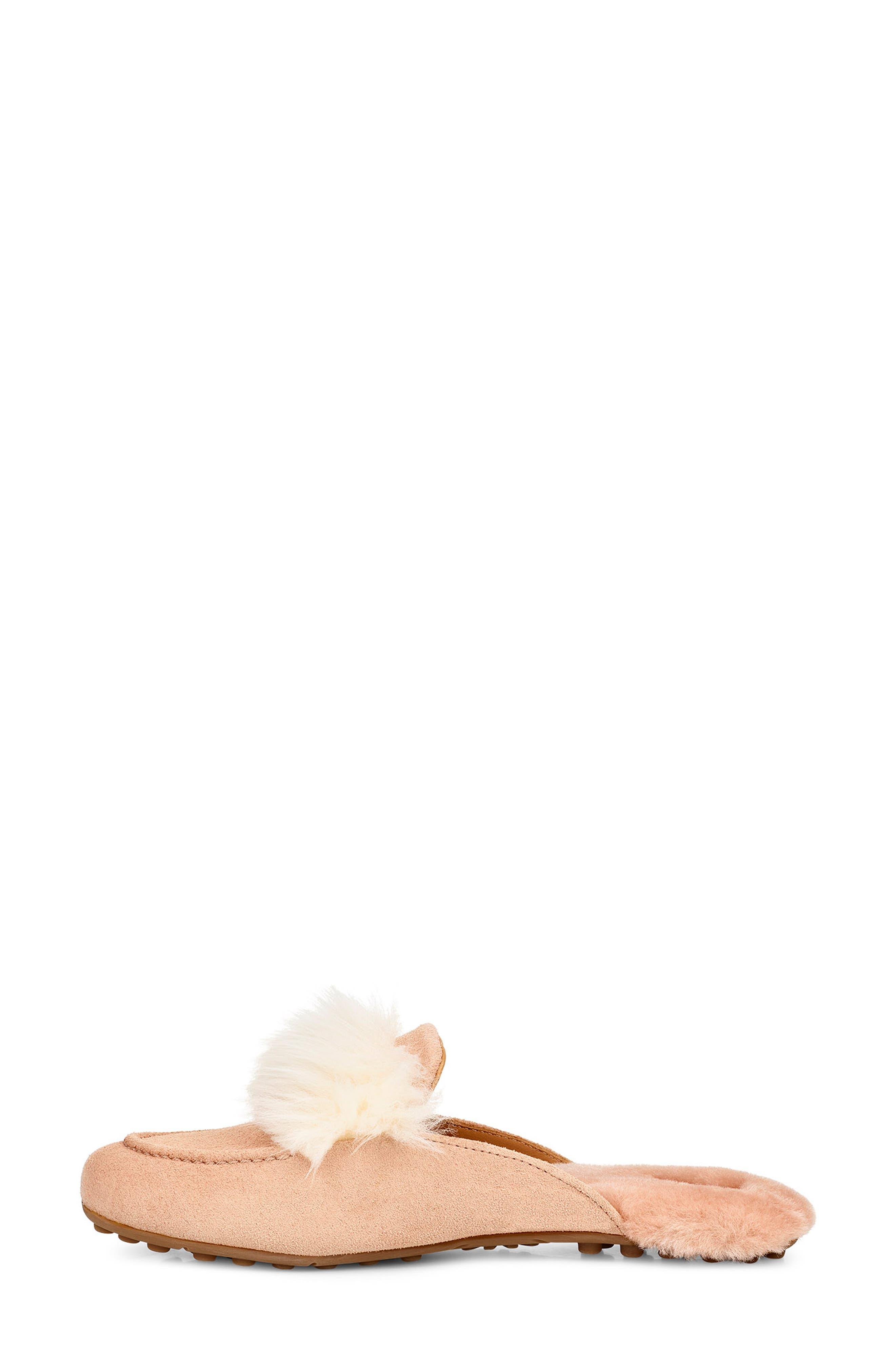 ,                             Shaine Wisp Genuine Shearling Slipper,                             Alternate thumbnail 28, color,                             650