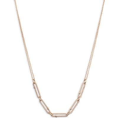 Nadri Cubic Zirconia Links Frontal Necklace