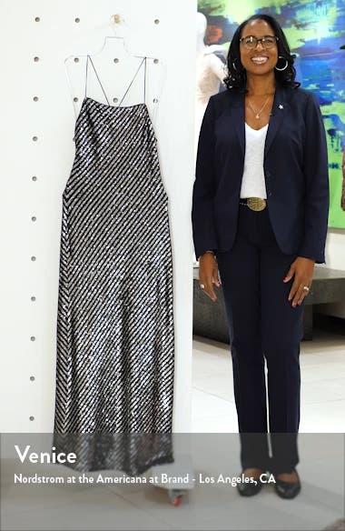 Sequin Stripe Gown, sales video thumbnail
