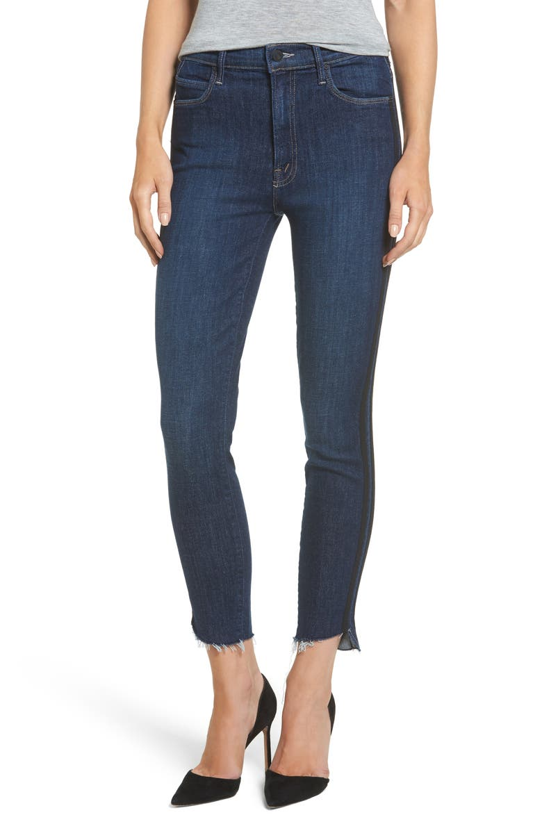 MOTHER The Stunner High Waist Ankle Skinny Jeans, Main, color, 411