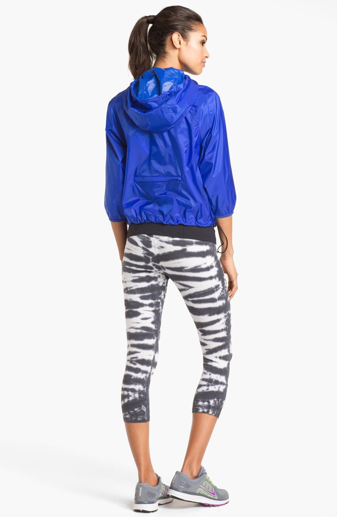 ,                             'Twist Tie' Dri-FIT Cotton Capri Pants,                             Alternate thumbnail 4, color,                             010