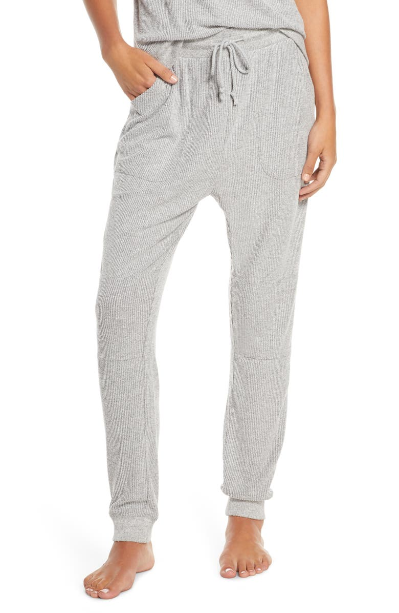 BP. x Claudia Sulewski Lounge Jogger Pants, Main, color, GREY PEARL MARL