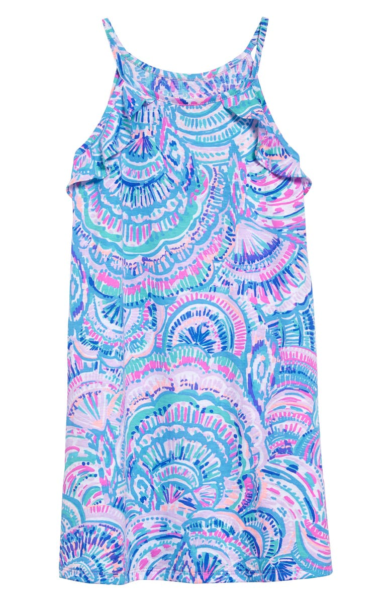 LILLY PULITZER<SUP>®</SUP> Mini Billie Sleeveless Shift Dress, Main, color, MULTI HAPPY AS A CLAM