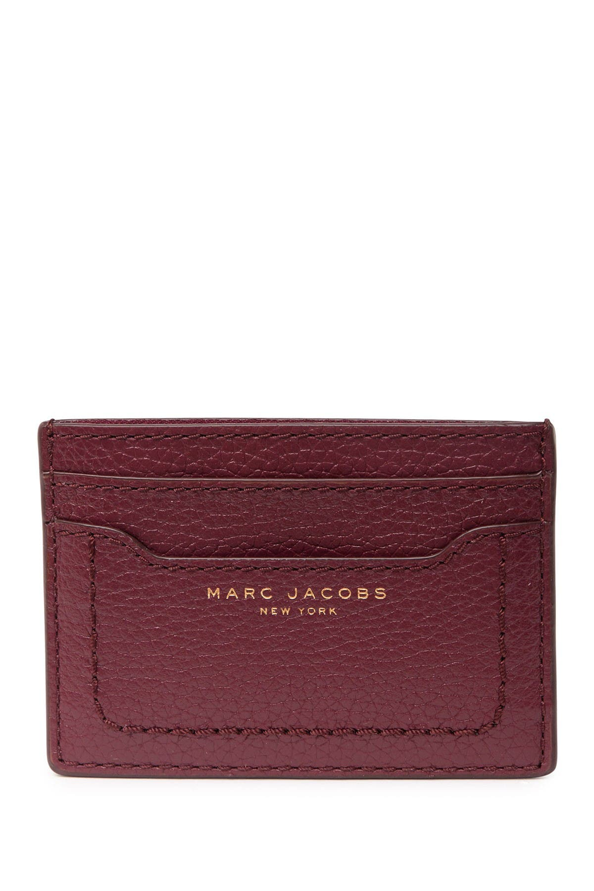 Image of Marc Jacobs Empire City Leather Card Case