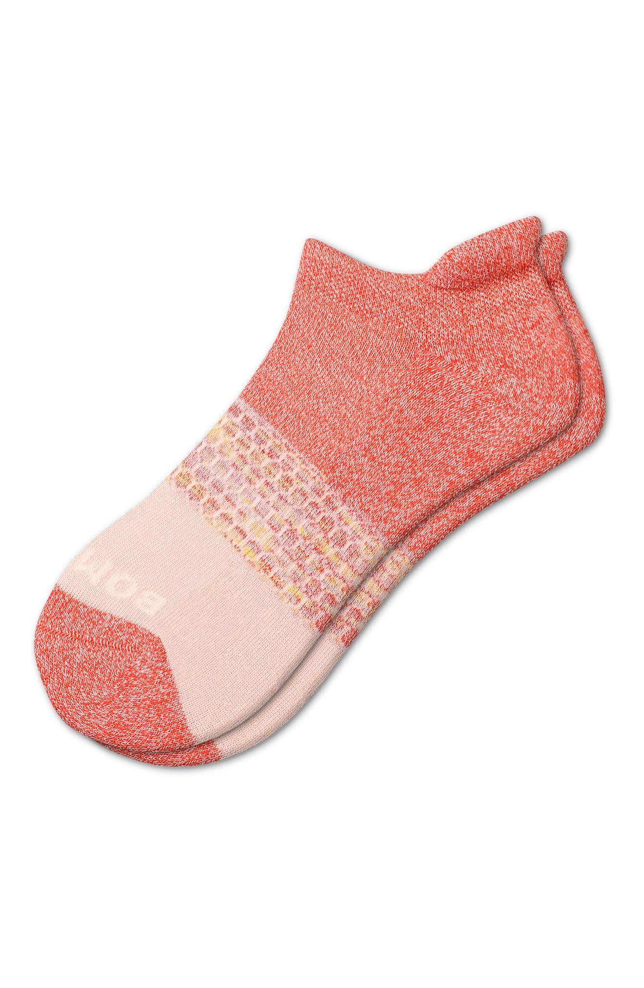 Space Dye Triblock No-Show Socks