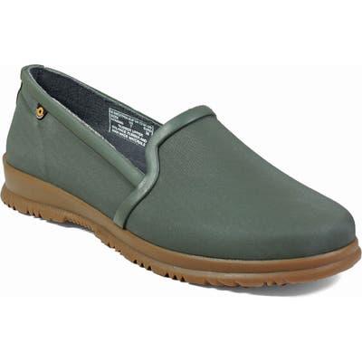 Bogs Sweetpea Waterproof Slip-On Sneaker, Green