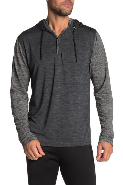 Image of Burnside Long Sleeve Shirt Hoodie