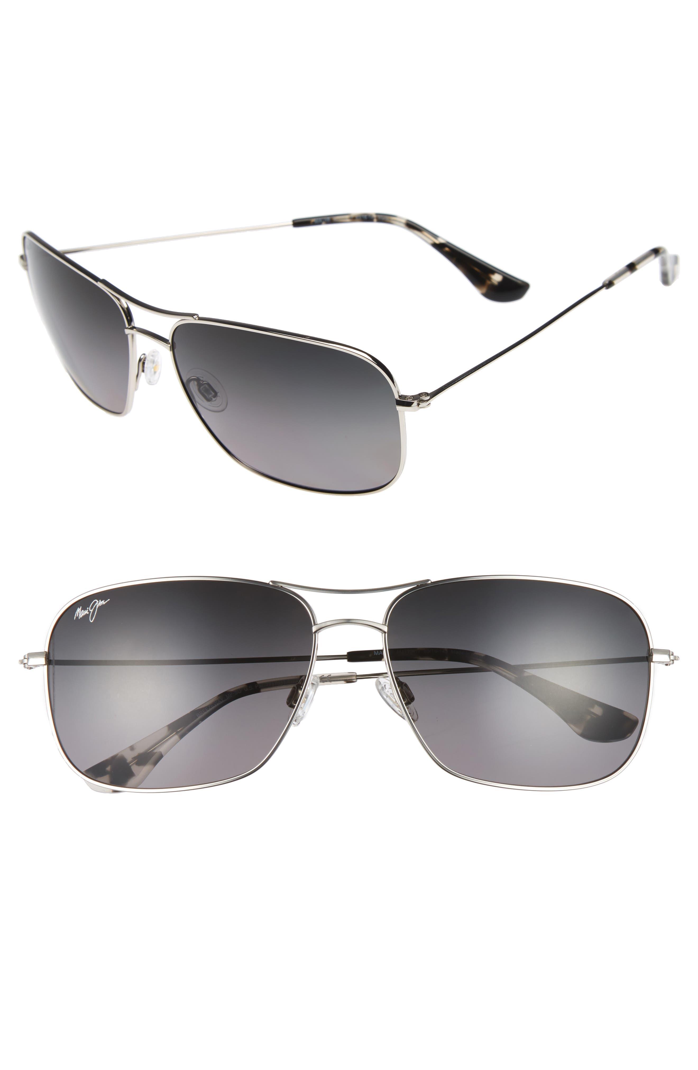 Maui Jim Breezeway 6m Polarizedplus2 Sunglasses - Silver
