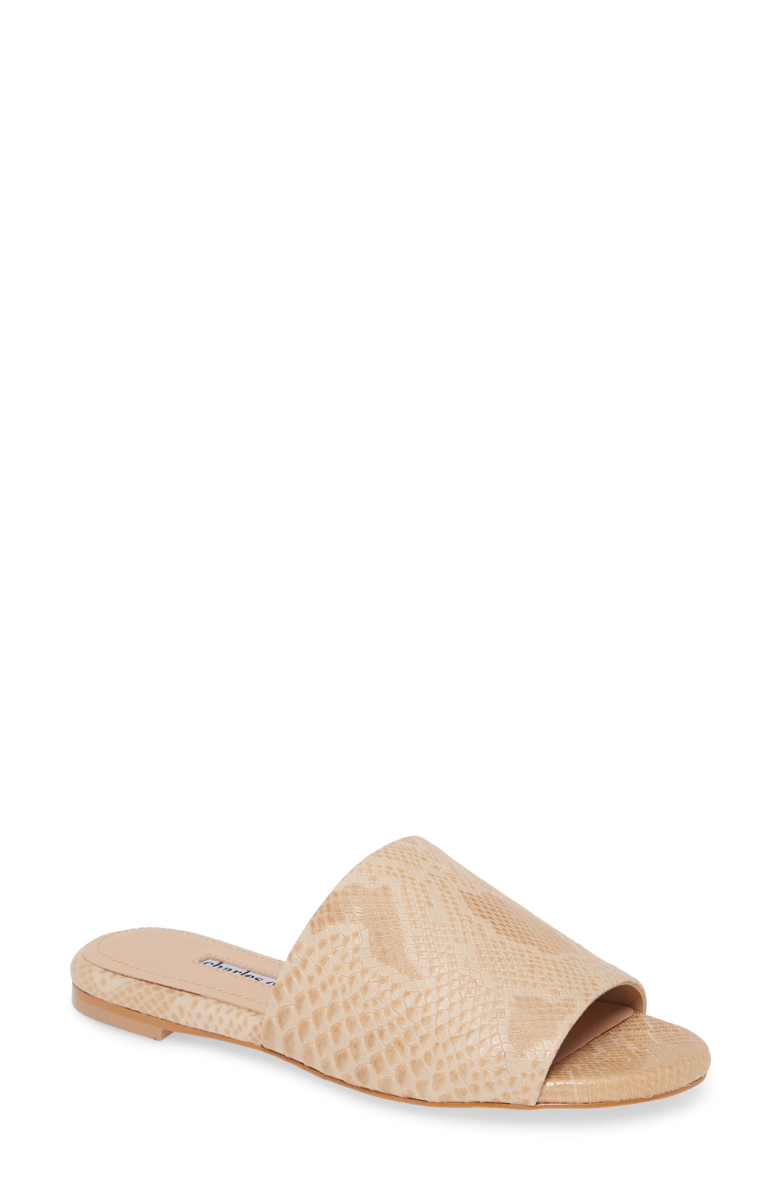 Spinner Slide Sandal