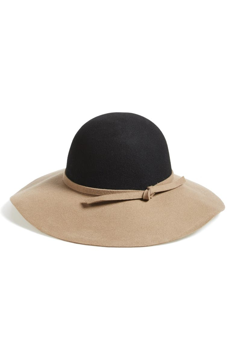 NORDSTROM Floppy Hat, Main, color, 001