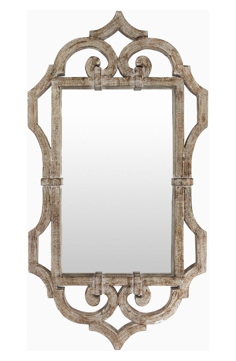 SURYA HOME Lalita Mirror, Main, color, SILVER