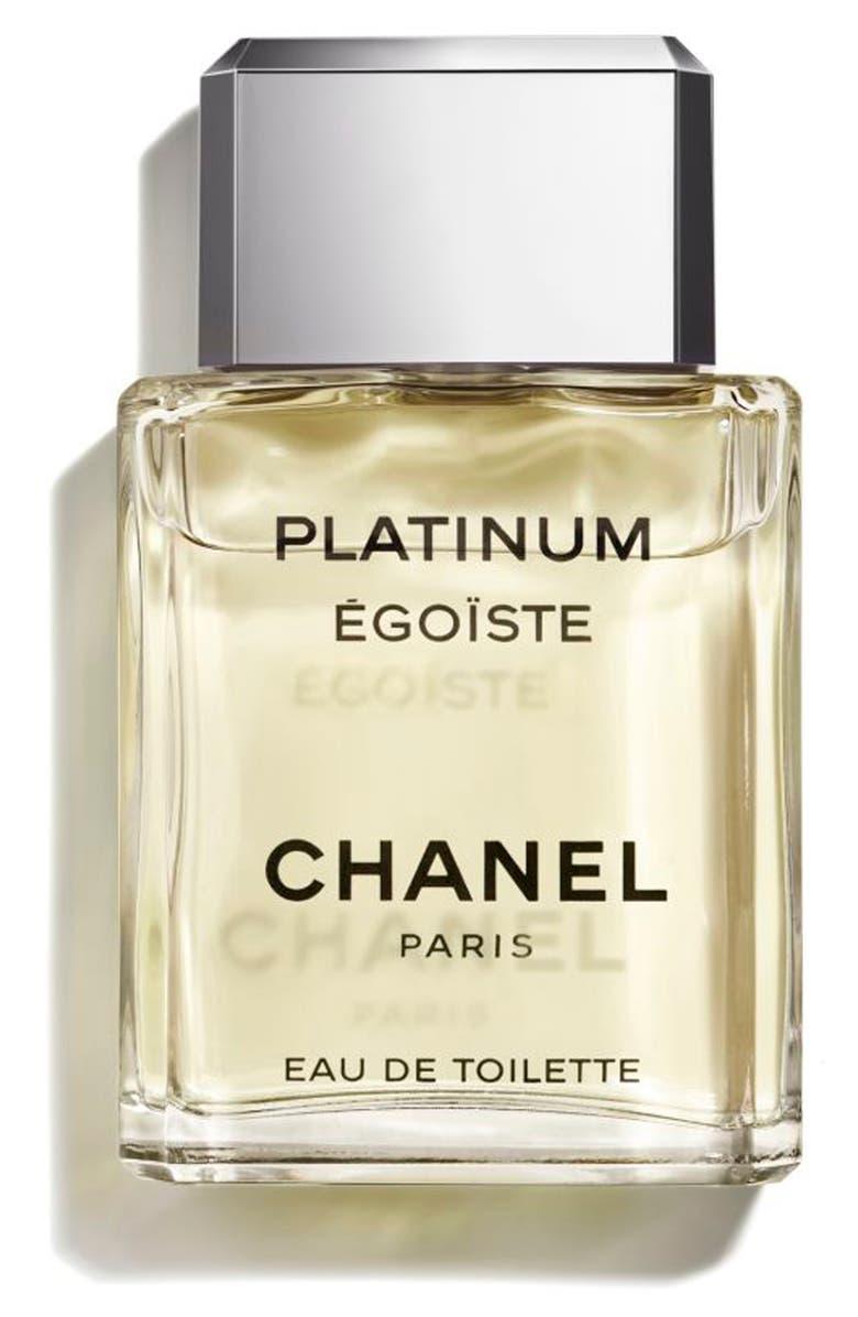 CHANEL PLATINUM ÉGOÏSTE <br />Eau de Toilette Spray, Main, color, NO COLOR