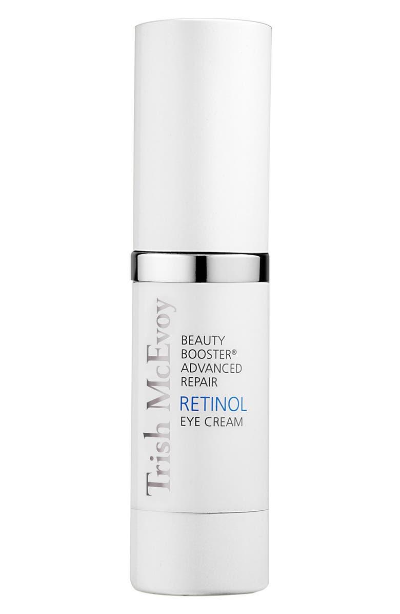 TRISH MCEVOY Beauty Booster<sup>®</sup> Retinol Eye Cream, Main, color, NO COLOR