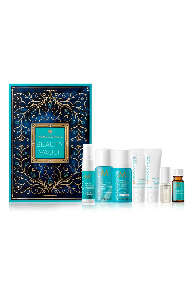 MOROCCANOIL<SUP>®</SUP> Beauty Vault Travel Size Holiday Calendar Set, Main, color, NO COLOR