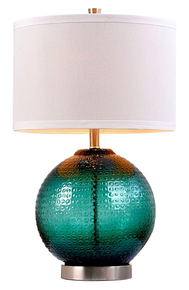 JALEXANDER LIGHTING JAlexander 'Jade' Glass Table Lamp, Main, color, 300