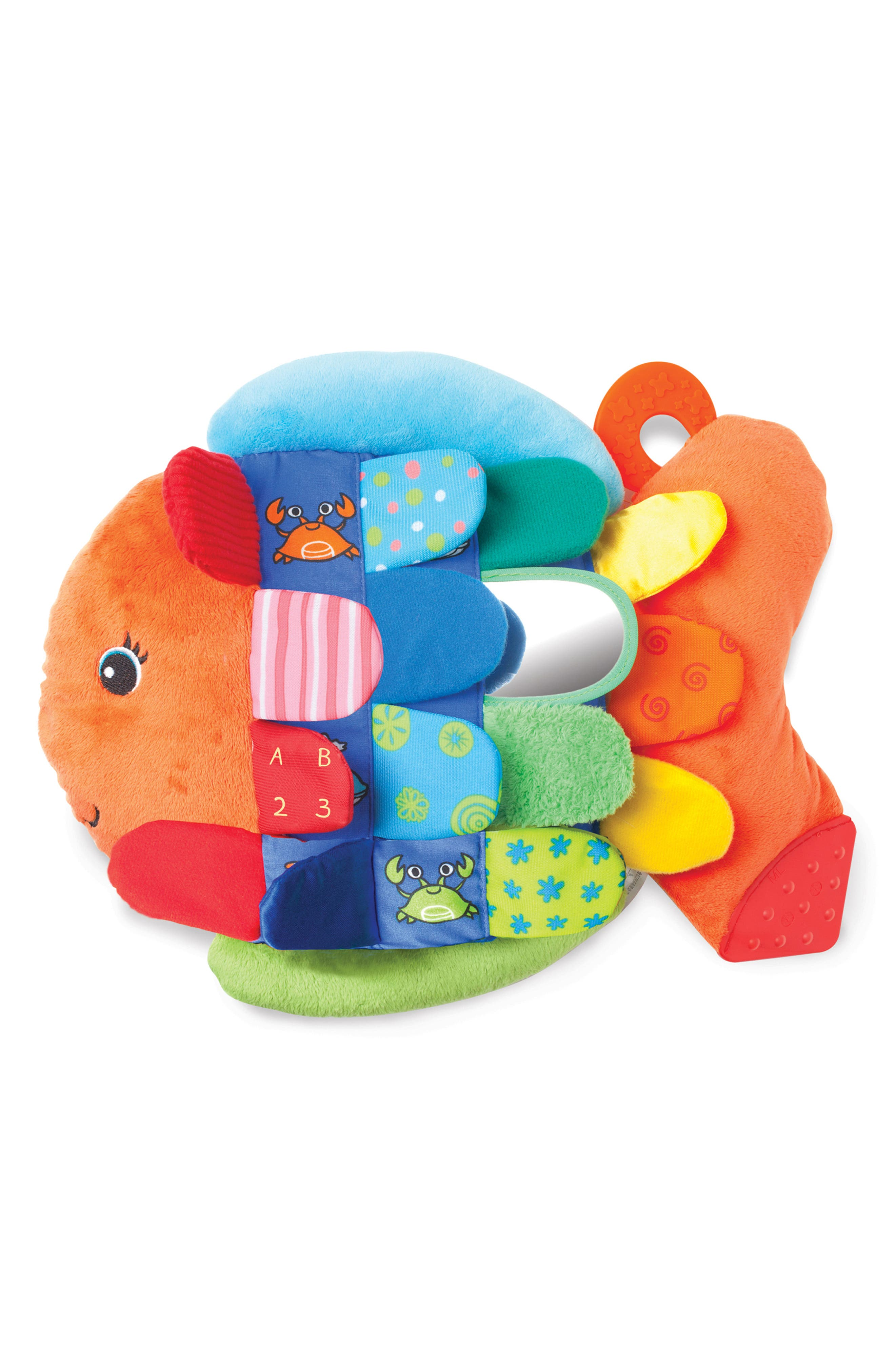 Toddler Melissa  Doug Turtle Ball Pit Flip Fish Toy  Soft Activity Book Set