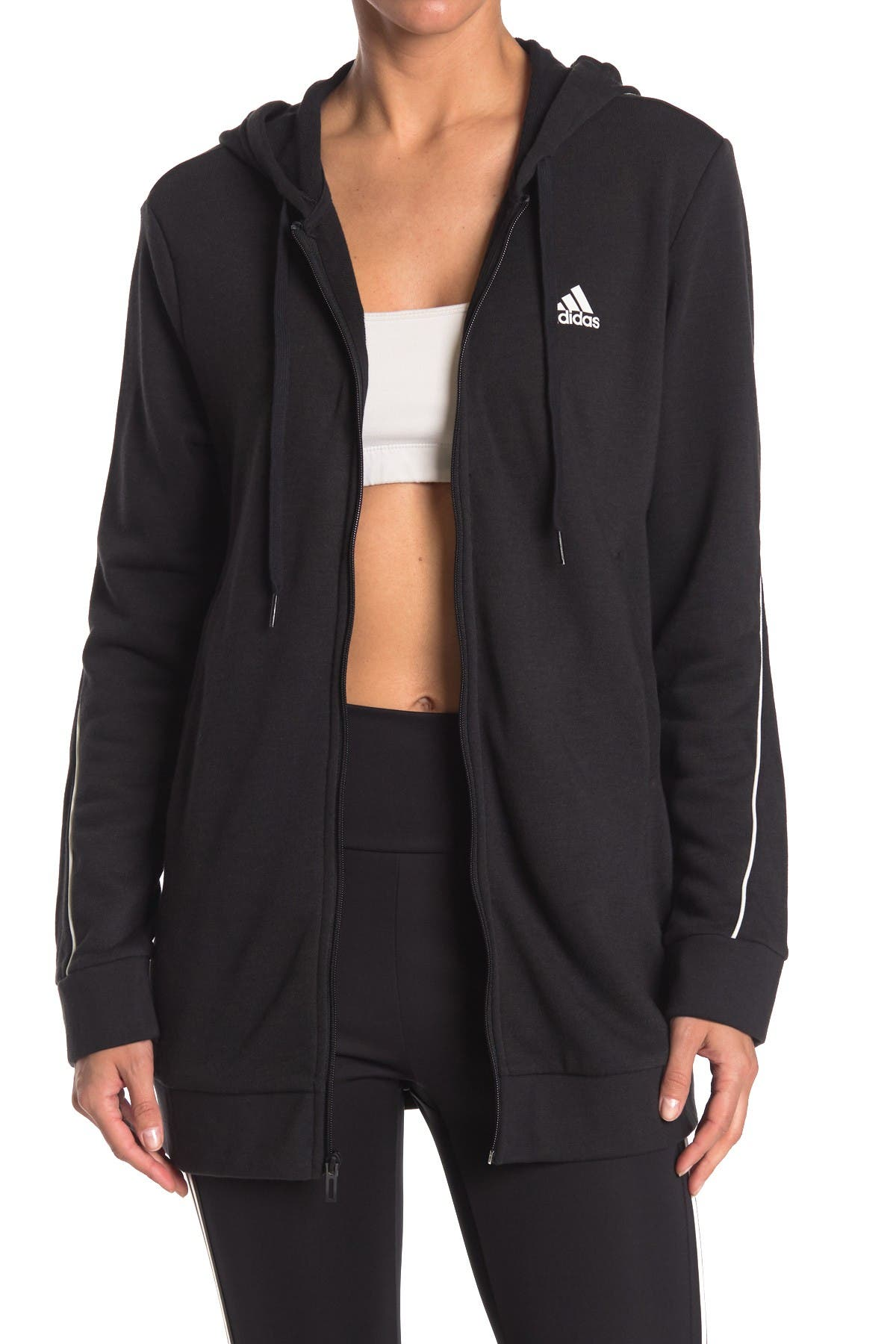 Image of adidas Favorite Q1 Full Zip Hoodie