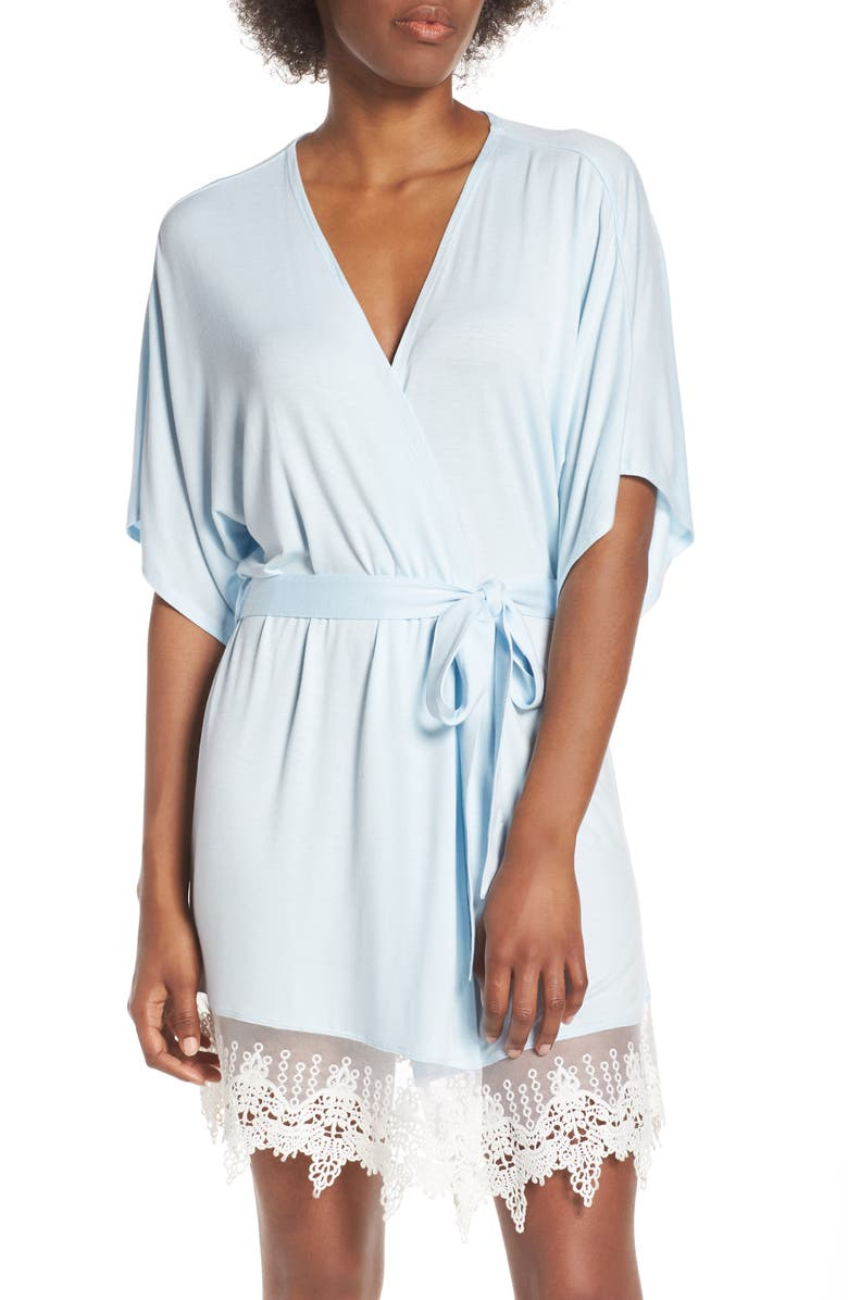 SPLENDID Short Robe, Main, color, DREAMY BLUE