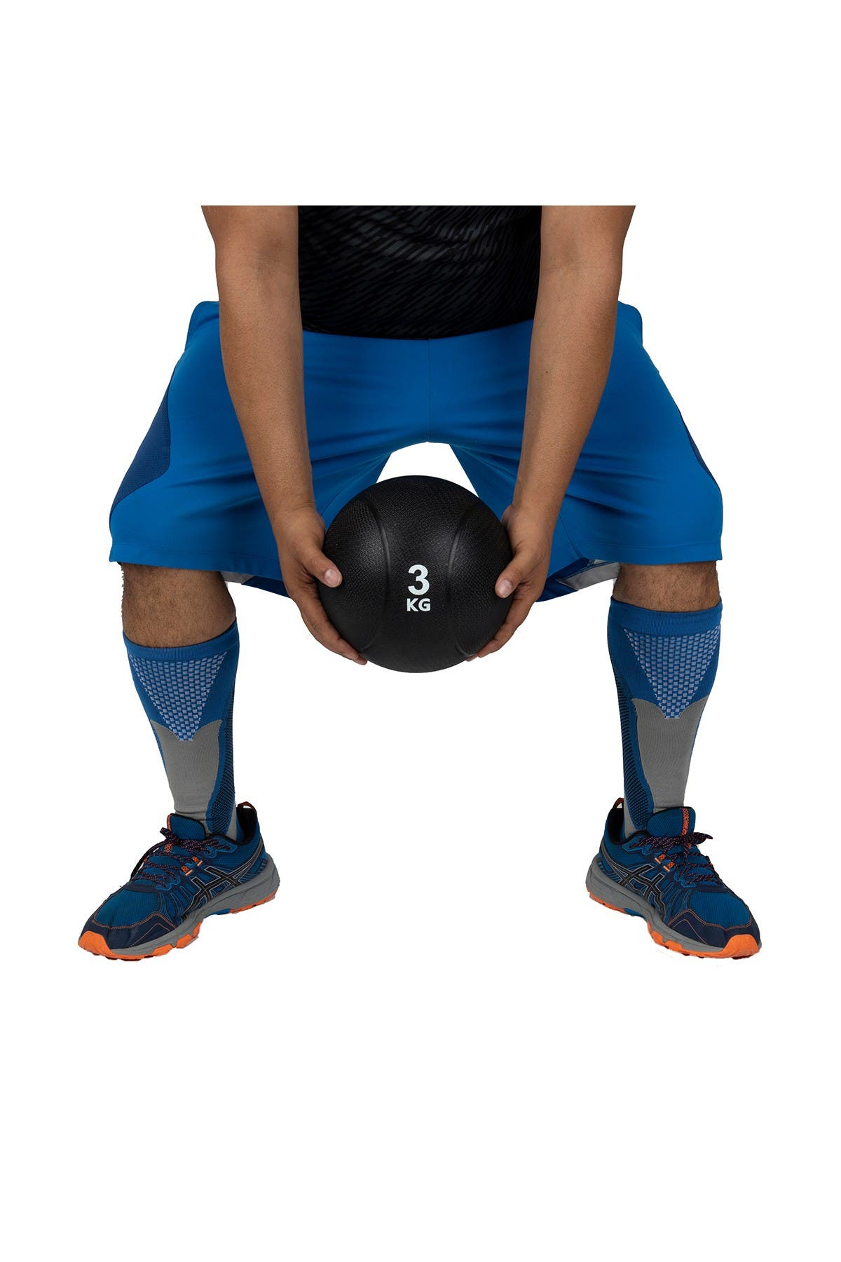 Image of MIND READER Core Workout Medicine Ball - 6.6 lb