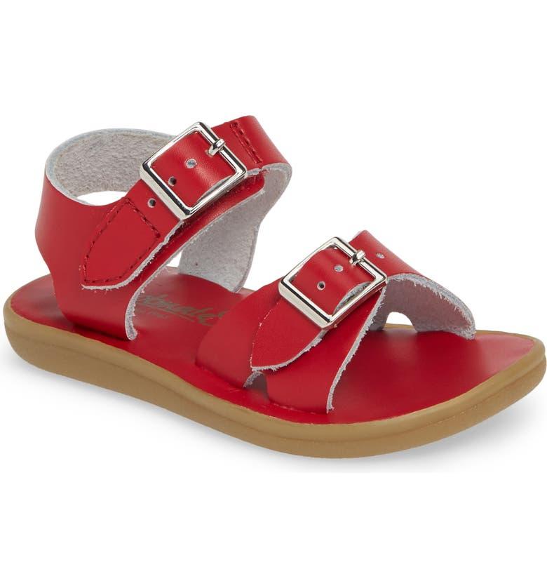 FOOTMATES Tide Waterproof Sandal, Main, color, APPLE RED
