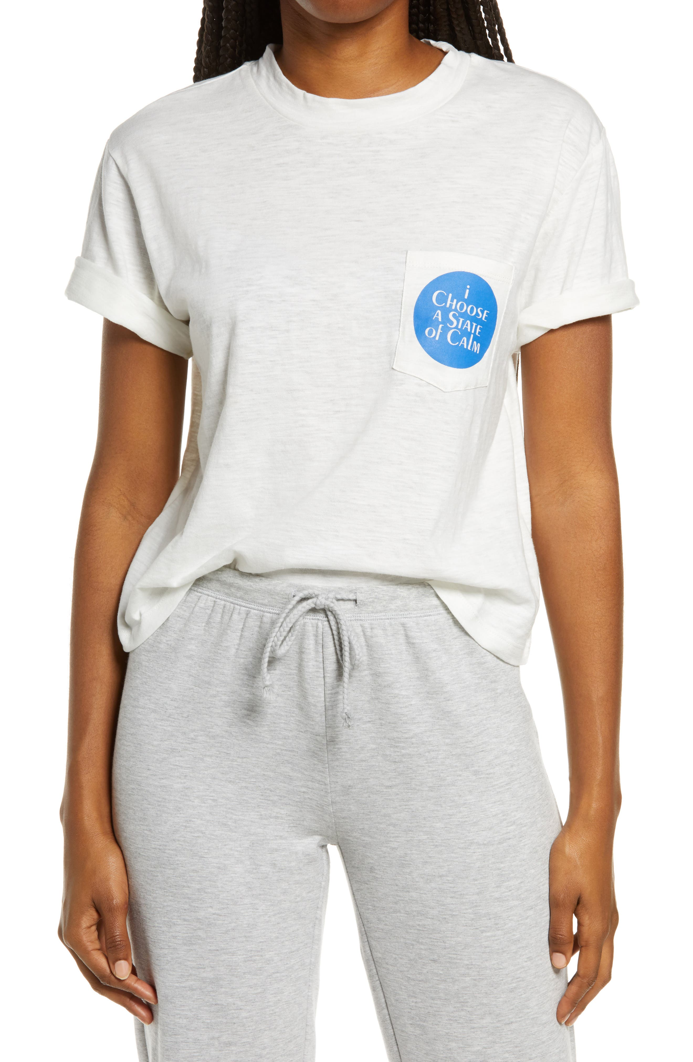 Women's Ban. do State Of Calm Boxy Graphic Tee