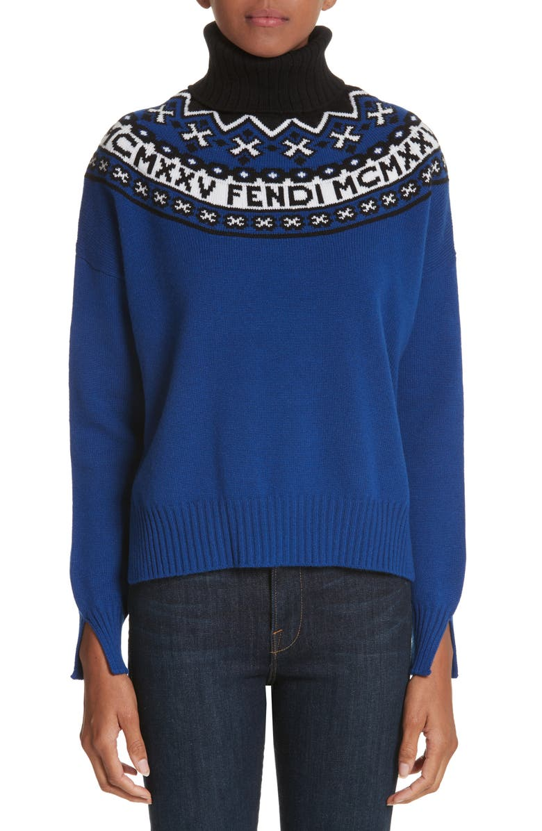 ba945c0a Fendi Heritage Wool & Cashmere Sweater | Nordstrom