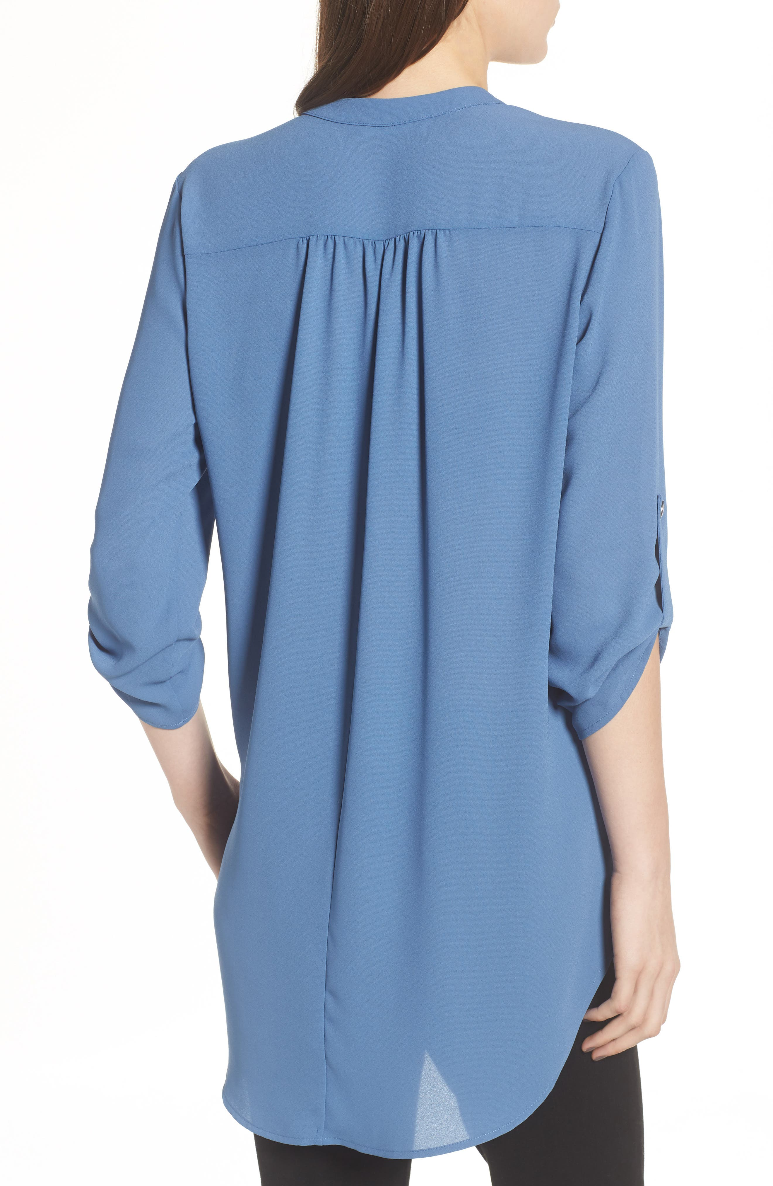 ,                             Perfect Roll Tab Sleeve Tunic,                             Alternate thumbnail 280, color,                             424
