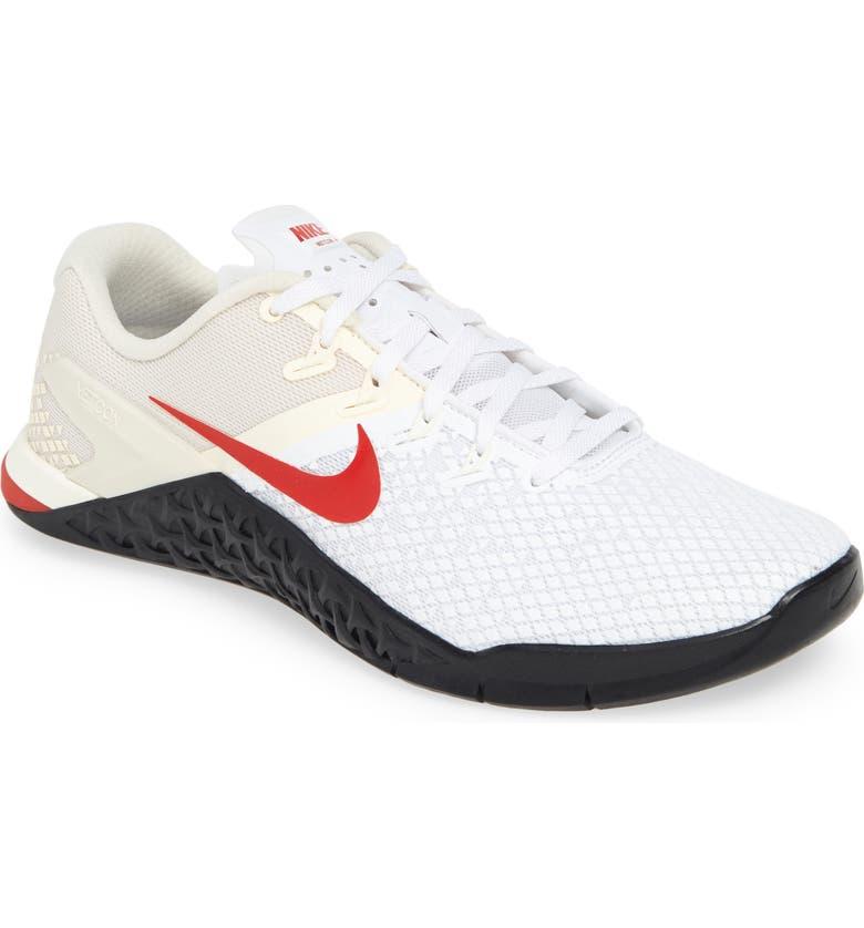NIKE Metcon 4 XD Training Shoe, Main, color, 100