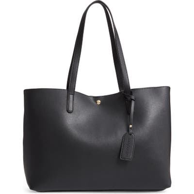 Sole Society Zeda Faux Leather Tote - Black
