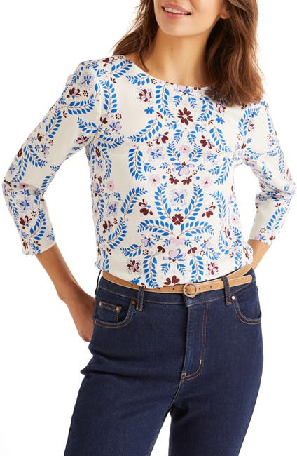 Image of BODEN Nadine Printed Top